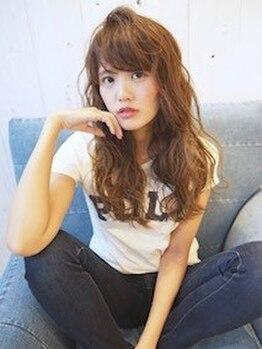 エミュー(emue)の写真/瞳の色や肌の色からあなただけの髪色をご提案☆あなたに似合う髪色が見つかる♪話題のイルミナカラーも◎