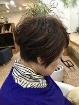 オーガニックヘアサロン ツリー(organic hair salon Tree)ショートレイヤー&アシメ