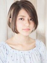 パティオン(PATIONN)米倉涼子風髪型輪郭小顔エレガンス大人大門前下がりボブショート