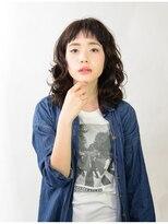 アース 八王子店(HAIR&MAKE EARTH)暗髪カジュアルミディ【EARTH八王子店】