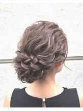 ヘアメイクアート(Hair make Art)大人気!定番!ウェーブツイストアップ