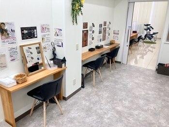 スマートカラー キレイ 旭川4条店(Kirei)の写真/[根元¥2440/全体¥2920]ネットで簡単予約もOK!お買い物ついでやお仕事帰りにもお気軽にお立ち寄り下さい♪