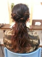 アロー ヘア(Arrow Hair)saito tomoko