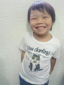 バカラ ヘアー 北花田(BAKARA HAIR)の写真/【親子一緒に来店でお子さん(15歳以下)のカット無料クーポンもあり!】ママ達に味方のプライベートサロン♪