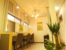 ヘアーカラーカフェ 北部店(HAIR COLOR CAFE)の雰囲気(セルフブロースペース♪カフェのようなおしゃれな空間。)