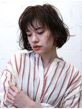 バッテリー ヘアアンドメイク 御幣島店(Battery hair&make)ラフパーマボブ