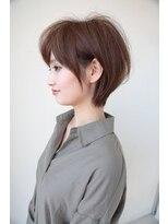 ヘアメイク シュシュ(Hair make chou chou)【HAPPINESS】大人ふんわりショート【木戸竜麻】