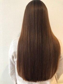 ヘアー プティ(hair puti)の写真/毛髪強度を促すトリートメントでダメージを抑え、しっとり柔らかい自然なまとまりのストレートヘアへ…♪