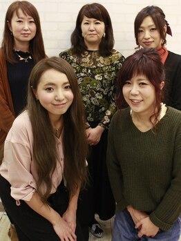 サロン ド シェモア(salon de CHEZ MOI)の写真/【平日割あり☆】女性ならではの目線で一人ひとりとじっくり向き合って可愛さを引き出します♪