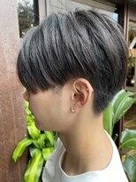 コレット ヘアー 大通(Colette hair)センターパートマッシュ&黒髪