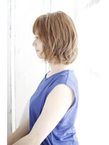 シュシュット(chouchoute)吉祥寺3分/かきあげ髪質改善マロンベージュ美髪Aラインボブ/007