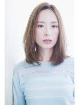ジョエミバイアンアミ(joemi by Un ami)【 joemi 】カットで決まる小顔グラデーションミディアム