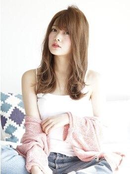 エミュー(emue)の写真/《TOKIOトリートメント導入!》カラーやパーマを繰り返して傷んだ髪も、思わず触りたくなるような艶髪に。