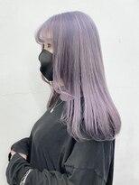 シキナ(sikina)【airiデザイン】イヤリングカラーイメチェンラベンダーカラー