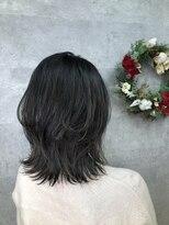 グランジュテ ヘアアンドスパ 新検見川(GRAND JETE Hair&Spa)ソフトウルフ♪ハイライト♪ [岩井麻由美]