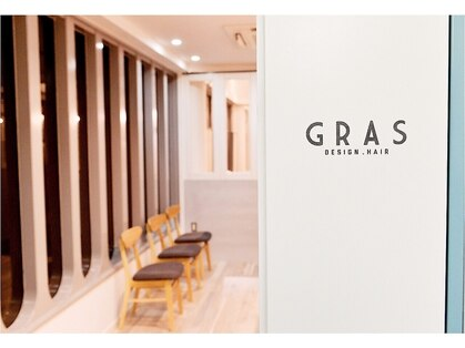 グラ デザインアンドヘアー ナンバ(GRAS DESIGN & HAIR namba)の写真