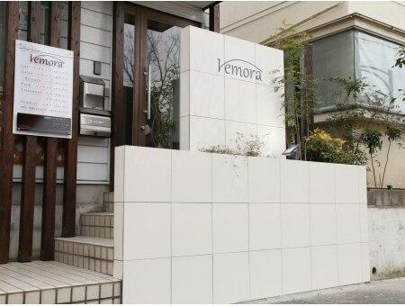 レモラ(remora)の雰囲気(白い看板が目印♪)