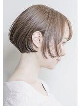 ルーシー ヘアデザインワークス(Lucy Hair Design Works)丸みボブ×奥行きショート