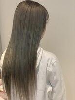 ヘアーリゾートラシックアールプラス(hair resort lachiq R+)《R+》髪質改善☆ペールグレー