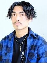 【Felice' hair】メンズセンターパートスタイル