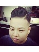 ヘアーサロン ファイン(Hair Salon FINE)七三スタイル×skinfade×hardpart