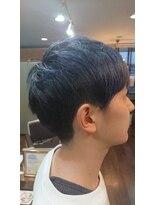 ヘアメイク フェイス(hair make faith)外国人風ブルー