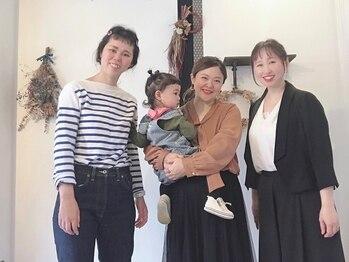ヘアーサロン マメキチ(Hair Salon mamekichi)の写真/気さくな女性staff only☆地肌に優しいカラー、似合わせカットが人気◎髪もファッションも軽やかな装いに♪