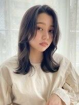 バイオレット 栄店(Violet)韓国風の顔まわりカット(Nー12)