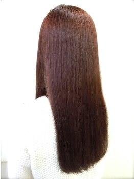 ミルキィウェイ 横浜店(MILKY WAY)の写真/【今から始める本格ケア!!】油断しない艶髪へ。思わず触れたくなる指通り滑らかなスッピン髪の質感に感動♪