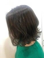 ヘアーアンドメイク ルシア 梅田茶屋町店(hair and make lucia)シークレットハイライトで透明感シアーグレージュに★