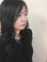 桜デコ(DECO)ロングパーマスタイル
