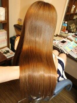 ケルア(KELUA)の写真/-持ちの良いM3Dの最先端縮毛矯正、エステストレート-それは貴女の髪をナチュラルで扱いやすい髪質に!