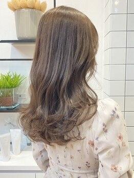 エイトヘアー(8 HAIR)の写真/誰とも被らないリアルtrendヘア♪《高技術×似合わせ力》で髪が伸びてきても崩れにくいスタイルをご提案!