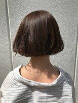 ポッシュ 原宿店(HAIR&MAKE POSH)ふわふわ透け感アッシュカラー