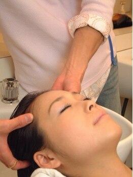 バランス 杉田店(Balance)の写真/癒しを求める方も!頭皮をスッキリキレイにしたい方も!充実メニューでその日の気分に合わせて選べます☆