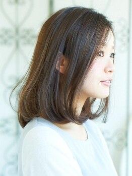 サラヘアー(sarah hair)の写真/【柔らか毛先のマシュマロストレート】見た目も手触りもふわっと柔らか&さらっと流れる理想のストレートへ