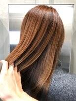 エイチスタンド 渋谷(H.STAND)髪質改善アッシュブラウンクラシカルセミディ[髪質改善/渋谷]