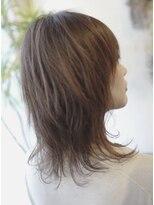 グランツヘアー(Glanz hair)クセを活かしたゆるふわパーマ風ストレート