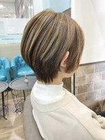 ショートヘア×3Dハイライト