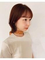 ヘアーアイストゥーレ(HAIR ICI TRE)オレンジ×ナチュラルウルフ