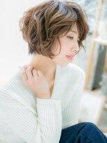モッズヘア 上尾西口店(mod's hair)*mod's上尾*大人かわいい♪MIXショート小顔ミディa!