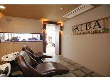アルバ ヘアリゾート(ALBA hair resort)の雰囲気(バリをイメージした極上のシャンプーブースです☆【ALBA三鷹】)