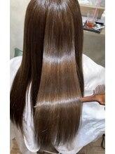 ヘアスペースブルーム エボリューション 庄内店(HAIR SPACE BLOOM evolution)髪質改善 ストレート ツヤ髪