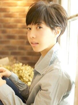 ベック ヘアサロン(BEKKU hair salon)マッシュルームベースの大人かわいいフレンチシックショート☆