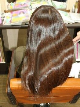 ケルア(KELUA)の写真/柔らかくツルツルの手触りが◎髪にたっぷりとミネラルを浸透させ内側から煌めくツヤと潤いを叶えてくれる★