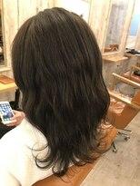 ロア ヘアーコーディネイト 烏丸店(LoRE hair coordinate)エメラルドグリーンシークレットハイライト(赤味改善カラー)