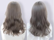 ラピセット(HAIR PRODUCE Lapset)の雰囲気(髪質改善☆艶&透明感のあるグレージュ/髪質改善カラー★)