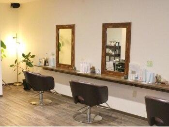 ウィーズヘアー(Weed's Hair)の写真/《舟入本町》多くの方のご意見ご要望通りに作られた美容室。「我が家のようにくつろげる♪」と定評あり◎