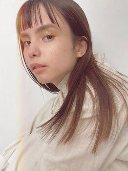 ビジョンアオヤマ (VISION aoyama)の写真/今までかけてきた縮毛矯正との違いを実感できる♪自然な柔らかさでリピーター続出!ツヤ感&潤いUP!