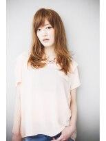 ジョエミバイアンアミ(joemi by Un ami)【 joemi 】カットだけで決まる流し前髪レイヤーロング